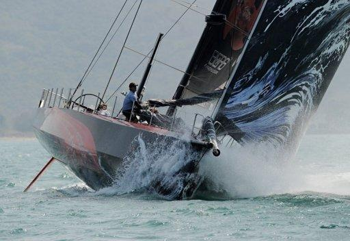 The Puma Ocean Racing team competes during the stage one start of Leg 4 to Auckland in the Volvo Ocean Race at Sanya, Hainan Island in February 2012. The three-way battle for victory in the sixth leg of the Volvo Ocean Race will go down to the wire, with just 20 nautical miles separating the top trio on Thursday