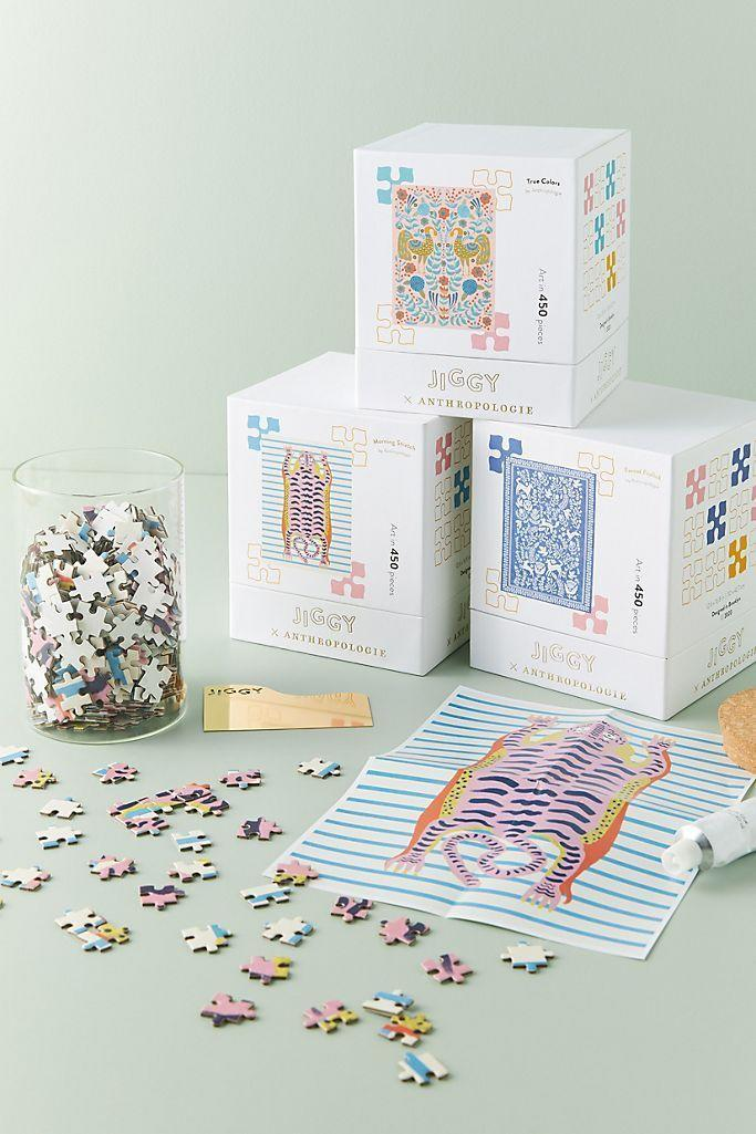 """<p><strong>Jiggy Puzzles Anthropologie</strong></p><p>anthropologie.com</p><p><strong>$44.00</strong></p><p><a href=""""https://go.redirectingat.com?id=74968X1596630&url=https%3A%2F%2Fwww.anthropologie.com%2Fshop%2Fjiggy-for-anthropologie-puzzle-and-glue-set&sref=https%3A%2F%2Fwww.womansday.com%2Flife%2Fg24378973%2Fbest-gifts-for-boss%2F"""" rel=""""nofollow noopener"""" target=""""_blank"""" data-ylk=""""slk:Shop Now"""" class=""""link rapid-noclick-resp"""">Shop Now</a></p><p>This female-founded puzzle company makes beautiful puzzles that feature the artwork of creative women around the world. Your boss will love relaxing after a long day at the office by piecing it together, and once they're done they can glue it together and proudly display their piece at home or work. </p>"""