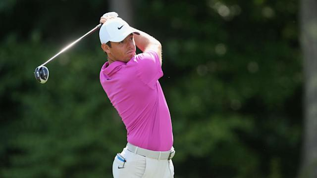 Brian Harman starred on Friday at the Travelers Championship to lead after two rounds, but Rory McIlroy and Bubba Watson are in contention.