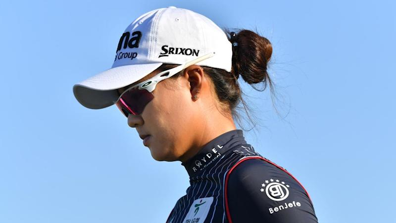 Local hope Minjee Lee seems to be fading away at the Women's Australian Open golf tournament