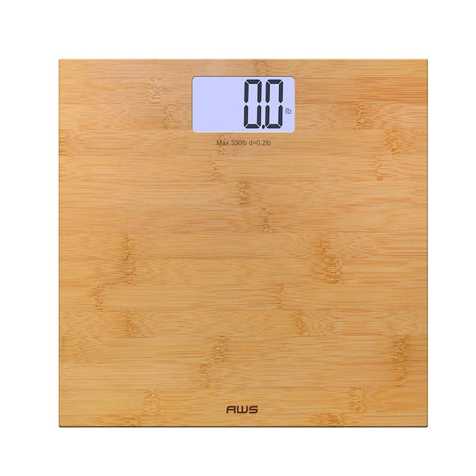 American Weigh Bamboo Backlit Digital Scale. (Photo: Amazon)