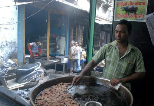 India's famous beef kebabs back on the menu