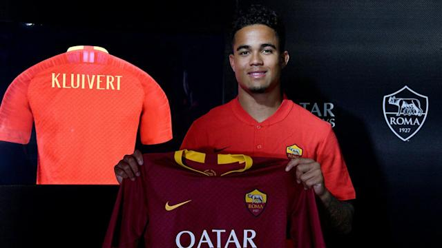 Justin Kluivert has looked set to move to Serie A for some time and his move from Ajax to Roma has now been completed.