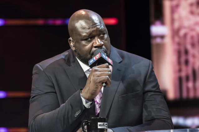 Shaquille O'Neal is mourning the loss of his younger sister. (Damairs Carter/MediaPunch/IPX)