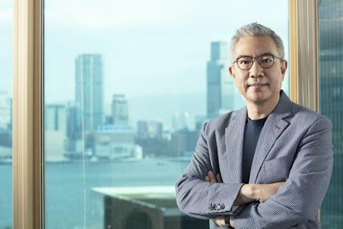 Steven Xiang Shaokun, chief executive officer of Huanxi Media Group, which produced volleyball drama Leap to be released during the Golden Week holiday in 2020. Photo: Handout