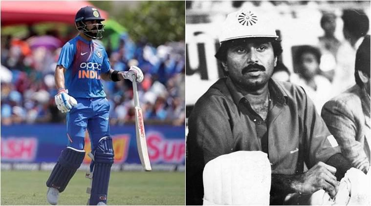 Virat Kohli, Javed Miandad, Kohli breaks Miandad record, Most ODI runs against West Indies, Virat Kohli record, Virat Kohli record West Indies, India vs West Indies 2nd ODI, West Indies vs India 2nd ODI, IND vs WI 2nd ODI, WI vs IND 2nd ODI