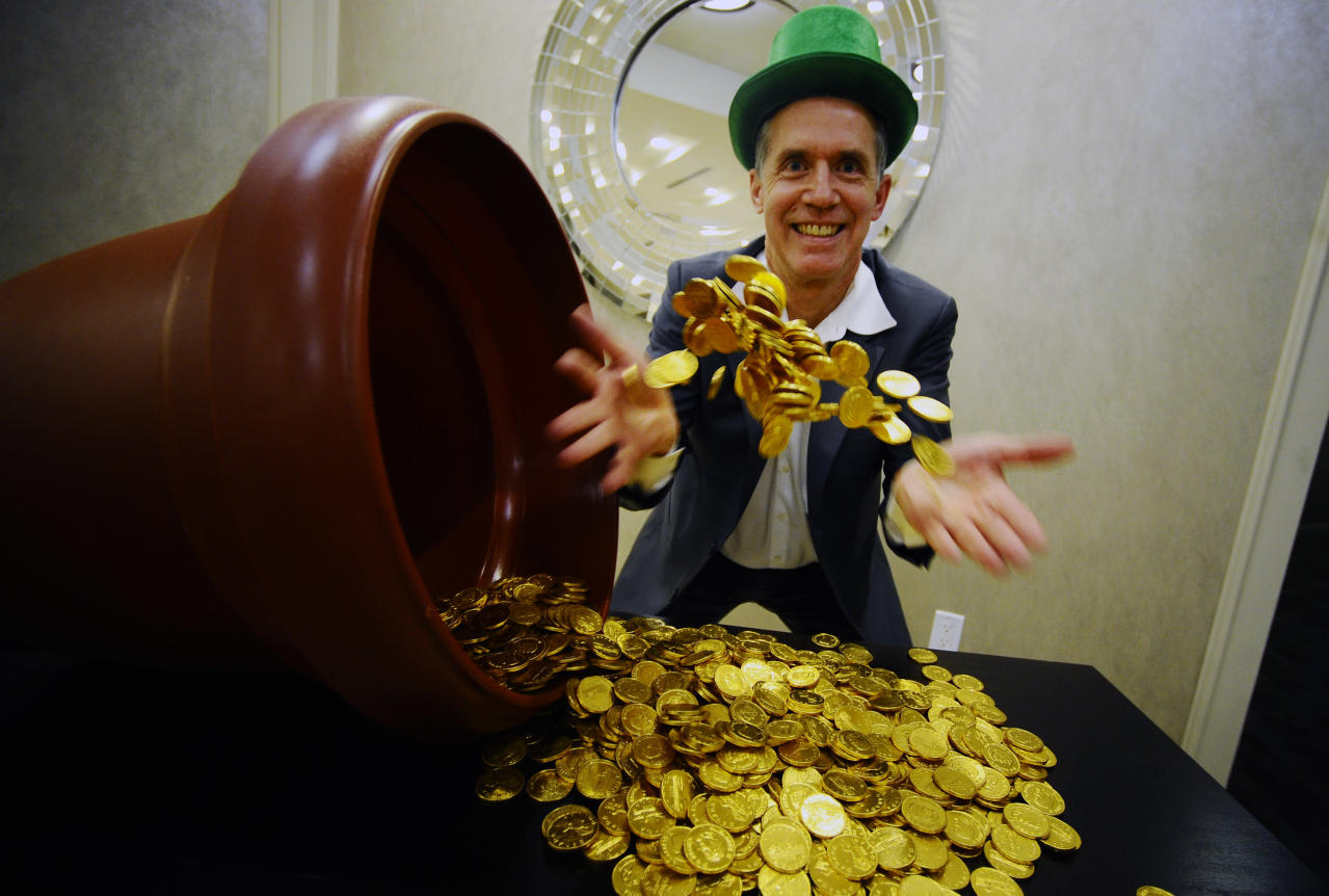Gold insider is stashing coins in special place with prices surging