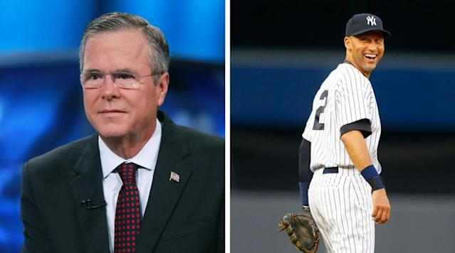 Derek Jeter reportedly teaming up with Jeb Bush to attempt to buy Marlins
