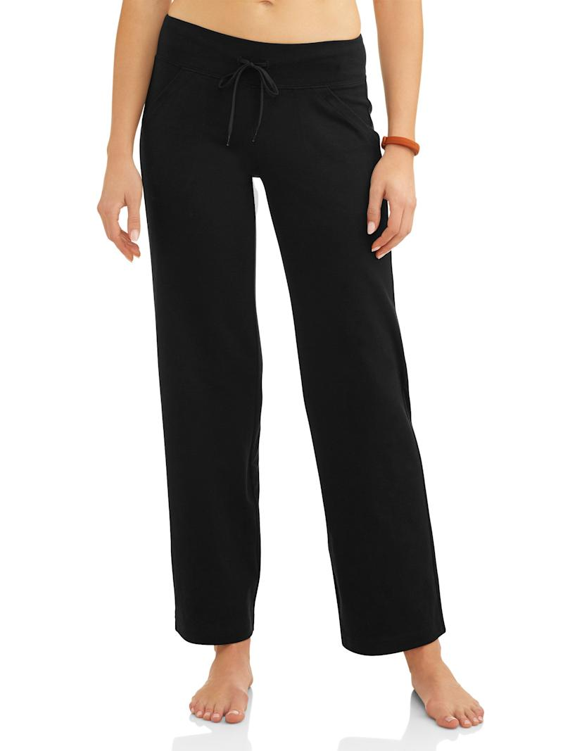 Athletic Works Women's Dri More Core Relaxed Fit Yoga Pant (Photo: Walmart)