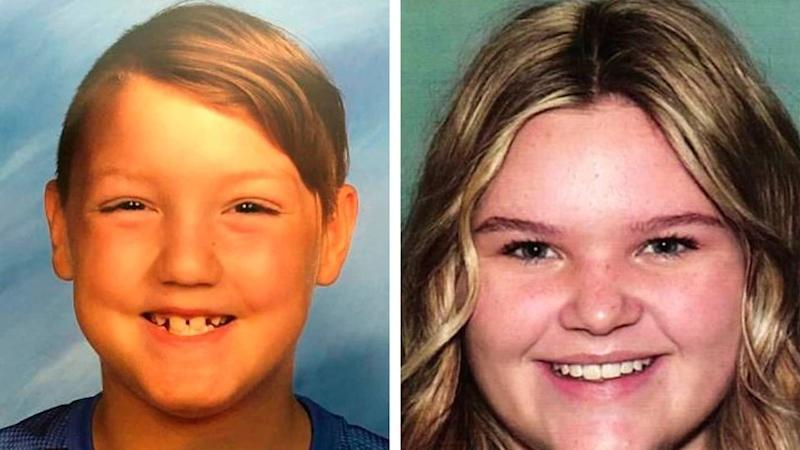 "Joshua ""J.J."" Vallow, 7, left, and Tylee Ryan, 17"