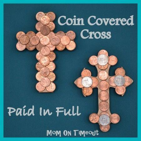 "<p>This cross craft carries a meaningful message for your kids while getting their hands busy.</p><p><strong>Get the tutorial at <a href=""https://www.momontimeout.com/coin-covered-cross-paid-in-full-easter/"" rel=""nofollow noopener"" target=""_blank"" data-ylk=""slk:Mom on Timeout"" class=""link rapid-noclick-resp"">Mom on Timeout</a>.</strong></p><p><strong><a class=""link rapid-noclick-resp"" href=""https://www.amazon.com/Unfinished-Wood-Wall-Cross-Decoration/dp/B07JCKNMQZ/?tag=syn-yahoo-20&ascsubtag=%5Bartid%7C10050.g.30928377%5Bsrc%7Cyahoo-us"" rel=""nofollow noopener"" target=""_blank"" data-ylk=""slk:SHOP WOOD CROSSES"">SHOP WOOD CROSSES</a><br></strong></p>"