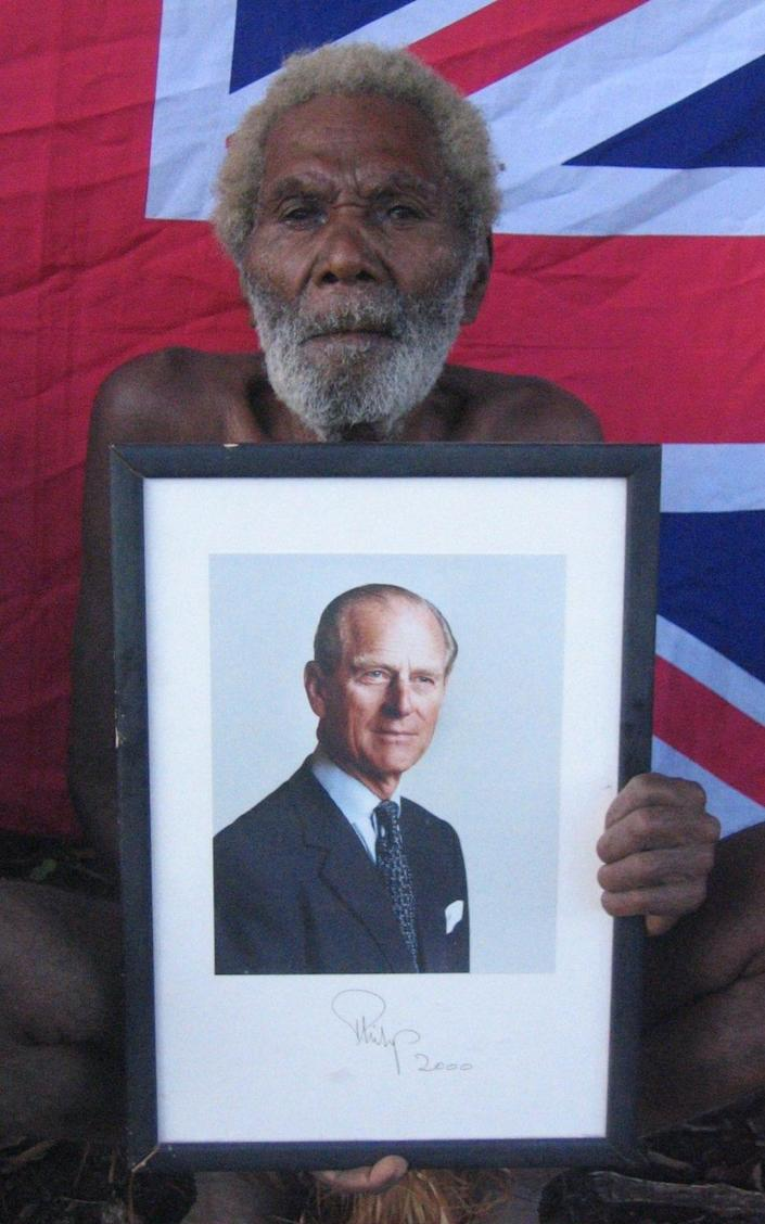 Chief Jack Naiva, who died in 2009 - Nick Squires