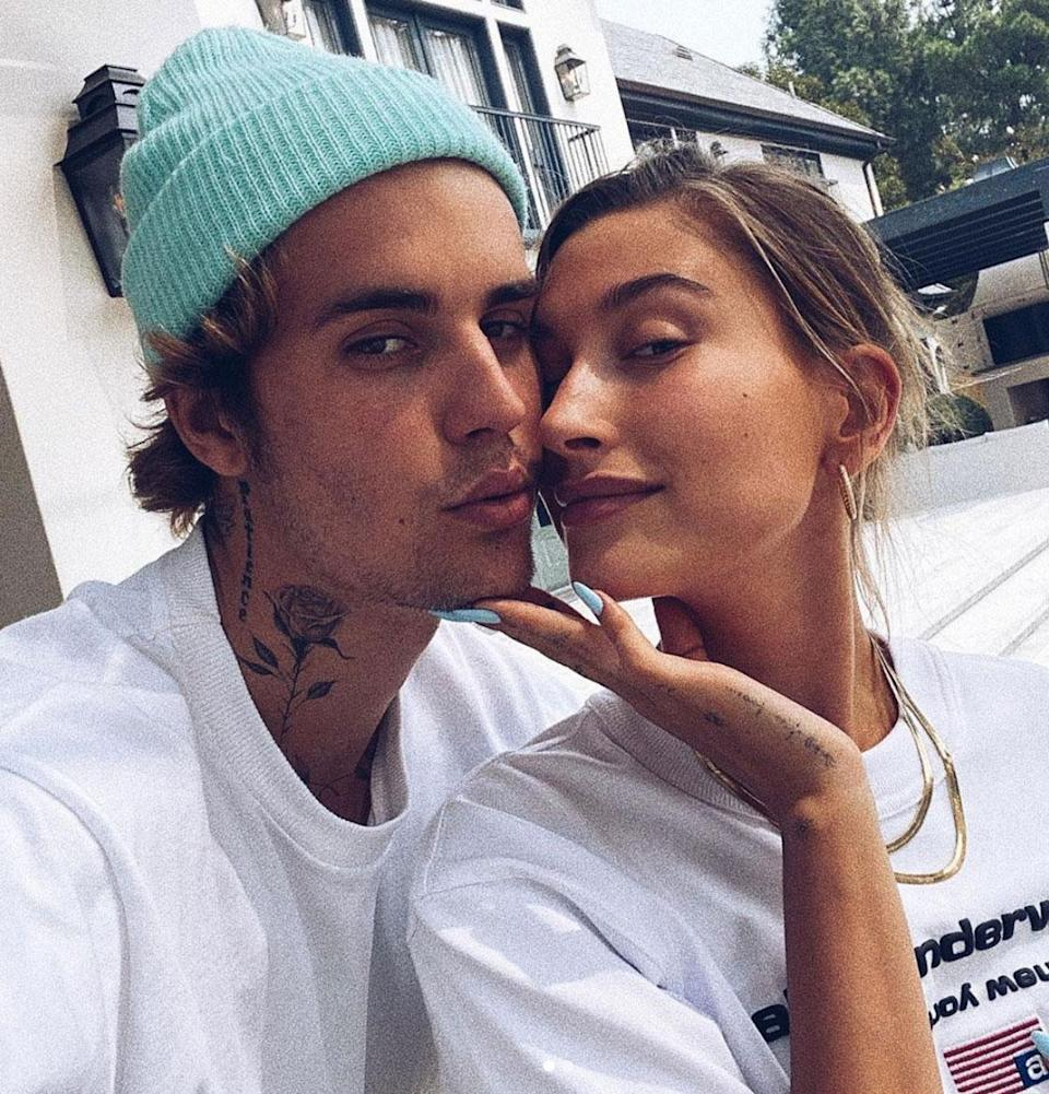 """<p>The model had three gowns for her 2019 wedding to singer Justin Bieber, including a curve-hugging off-the-shoulder number from Vera Wang for the reception, which she wore with sneakers. (<a href=""""https://www.instagram.com/p/B3flZ65hHqu/?utm_source=ig_embed&ig_rid=4f487d96-3b14-4961-9051-31f73d3b778b"""" rel=""""nofollow noopener"""" target=""""_blank"""" data-ylk=""""slk:See it here"""" class=""""link rapid-noclick-resp"""">See it here</a>.) """"I'm just very happy that she wore it and she partied in it and she wore it with sneakers ... that's just my kind of deal,"""" <a href=""""https://people.com/style/vera-wang-talks-about-designing-hailey-baldwin-third-wedding-dress/"""" rel=""""nofollow noopener"""" target=""""_blank"""" data-ylk=""""slk:Wang told PEOPLE"""" class=""""link rapid-noclick-resp"""">Wang told PEOPLE</a>.</p>"""