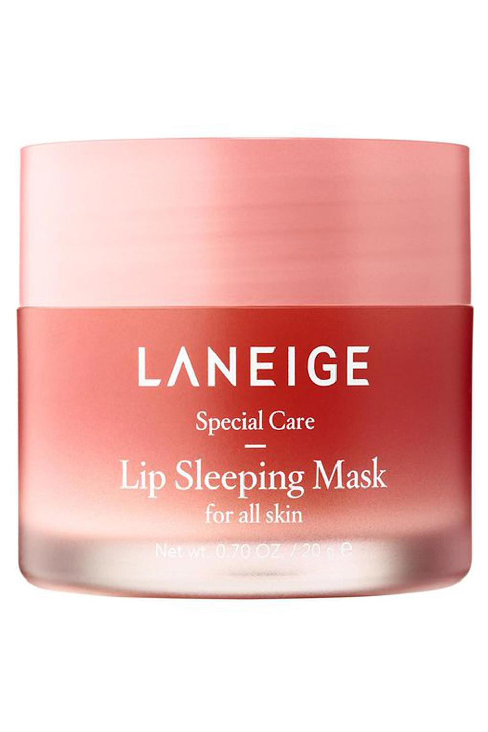 """<p><strong>LANEIGE</strong></p><p>sephora.com</p><p><strong>$22.00</strong></p><p><a href=""""https://go.redirectingat.com?id=74968X1596630&url=https%3A%2F%2Fwww.sephora.com%2Fproduct%2Flip-sleeping-mask-P420652&sref=https%3A%2F%2Fwww.cosmopolitan.com%2Fstyle-beauty%2Fbeauty%2Fg4577%2Fvalentines-day-gifts-to-give-yourself%2F"""" rel=""""nofollow noopener"""" target=""""_blank"""" data-ylk=""""slk:Shop Now"""" class=""""link rapid-noclick-resp"""">Shop Now</a></p><p>You might think the whole masking thing is getting out of control, but don't write this one off just yet. This lip treatment has <a href=""""https://www.sephora.com/product/lip-sleeping-mask-P420652"""" rel=""""nofollow noopener"""" target=""""_blank"""" data-ylk=""""slk:150K Loves on Sephora"""" class=""""link rapid-noclick-resp"""">150K Loves on Sephora</a> because of <strong>its ability to smooth dry, flaky lips </strong>literally overnight.</p>"""