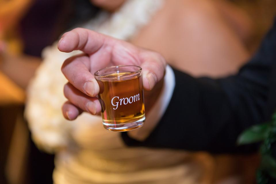 A new bride has turned to the Internet for advice after her husband got drunk and passed out on their wedding night [Photo: Getty]