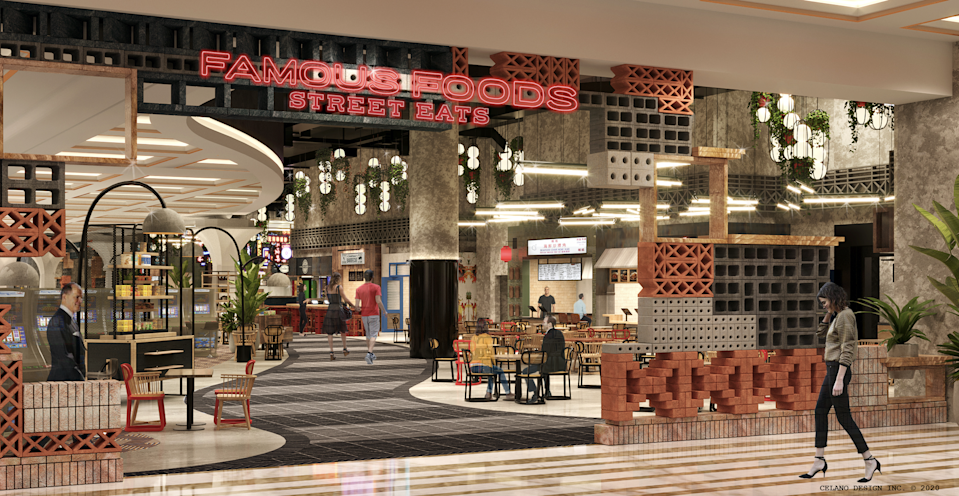 Coming to Resorts World Las Vegas is a hawker-inspired food hall called Famous Foods Street Eats, and it will offer guests a wide selection of authentic cuisines from Singapore, Malaysia, Thailand and beyond.