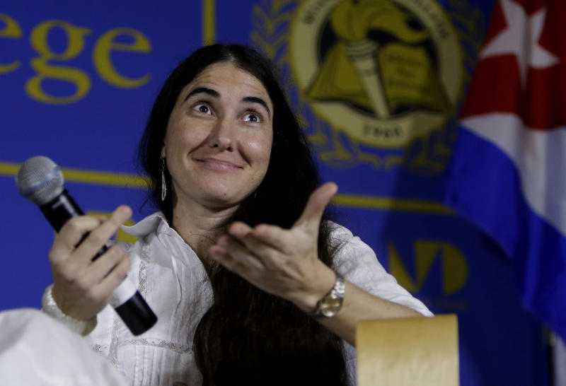 In Miami, Cuban dissident blogger calls for unity