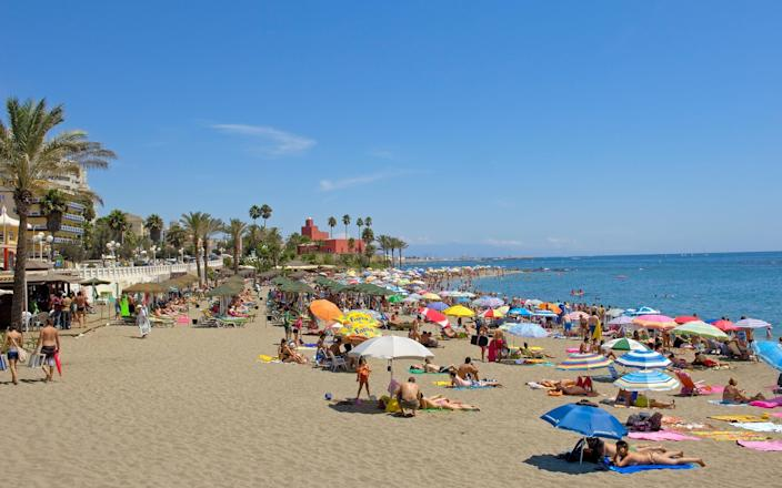Spanish beach - Getty