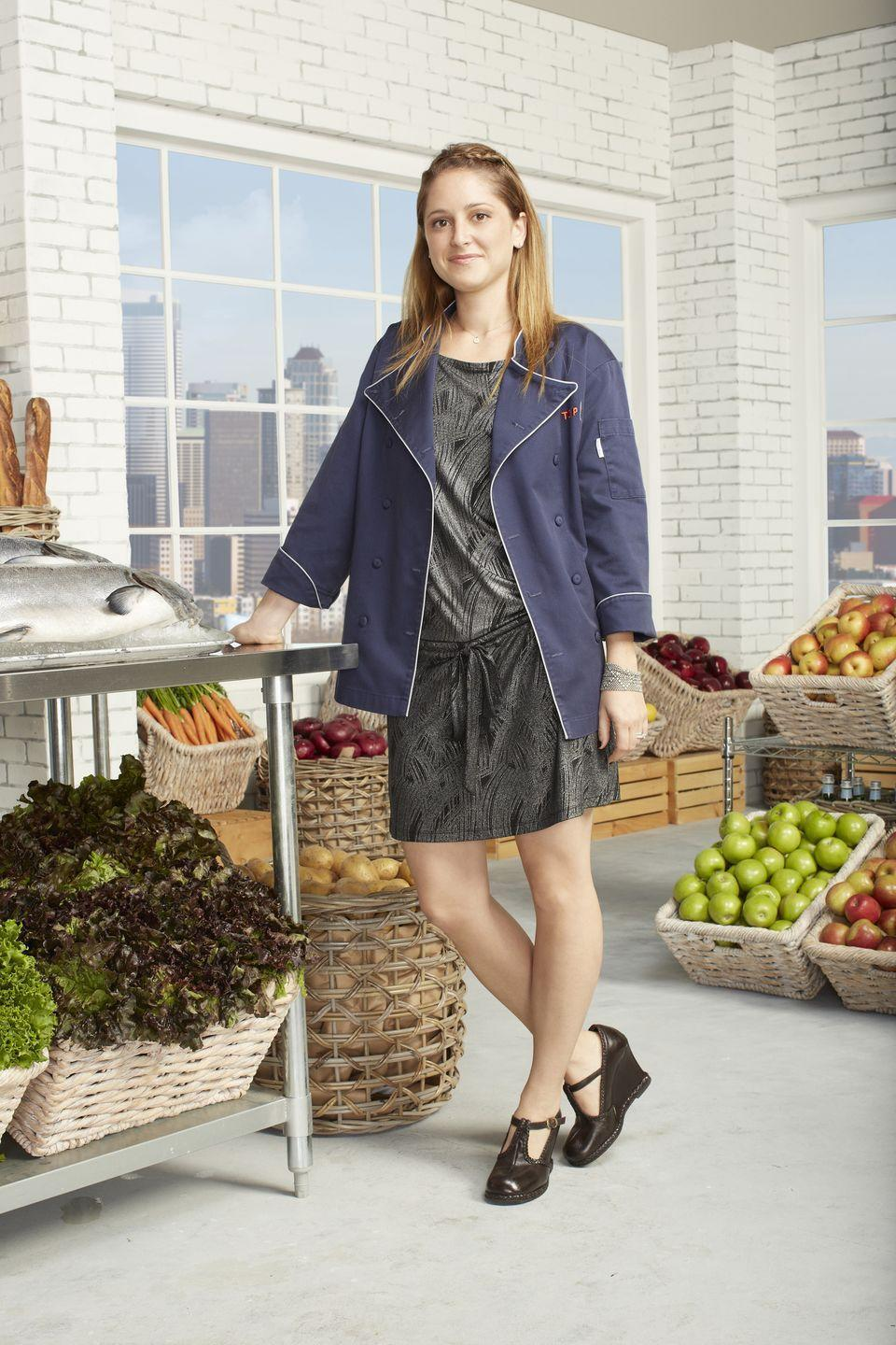 <p>The Los Angeles chef joined the cast of <em>Top Chef: Seattle </em>in 2012, where she came in second. Four years later, Brooke returned to the show for season 14 to take home the championship prize. </p>