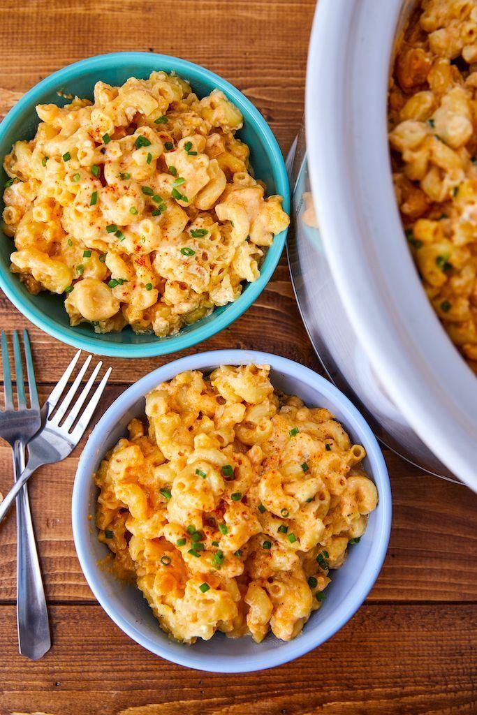 "<p>Slow and steady wins the (mac) race.</p><p>Get the recipe from <a href=""https://www.delish.com/cooking/recipe-ideas/recipes/a51531/slow-cooker-mac-cheese-recipe/"" rel=""nofollow noopener"" target=""_blank"" data-ylk=""slk:Delish"" class=""link rapid-noclick-resp"">Delish</a>.</p>"