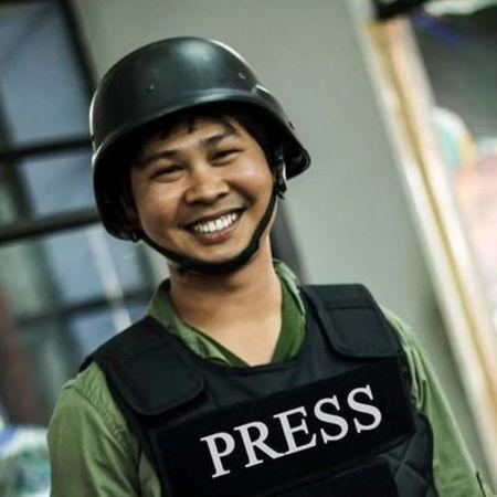 Reuters journalist Wa Lone, who is based in Myanmar, is seen in this undated picture taken in Myanmar. REUTERS/Stringer