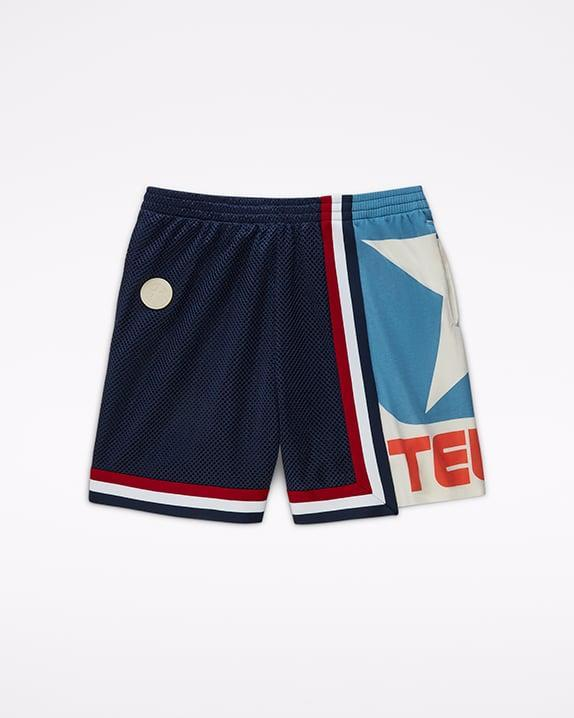 <p><span>Converse x Telfar Basketball Shorts</span> ($100)</p>