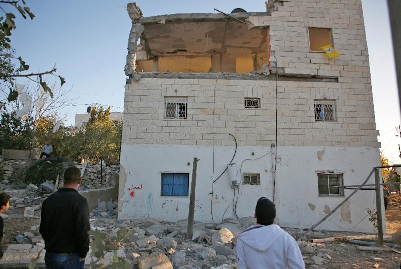 Israeli politicians defend demolishing the homes of Palestinians who carry out attacks as a deterrent against future violence, but critics say it amounts to collective punishment (AFP Photo/ABBAS MOMANI)