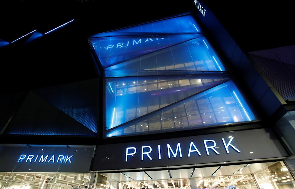 A Primark store is pictured in the Bullring shopping centre, after new nationwide restrictions were announced during the coronavirus disease (COVID-19) outbreak in Birmingham, Britain, November 4, 2020. REUTERS/Andrew Boyers