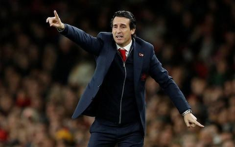 <span>Emery has not faced pressure to pick Ozil from above</span> <span>Credit: Reuters </span>