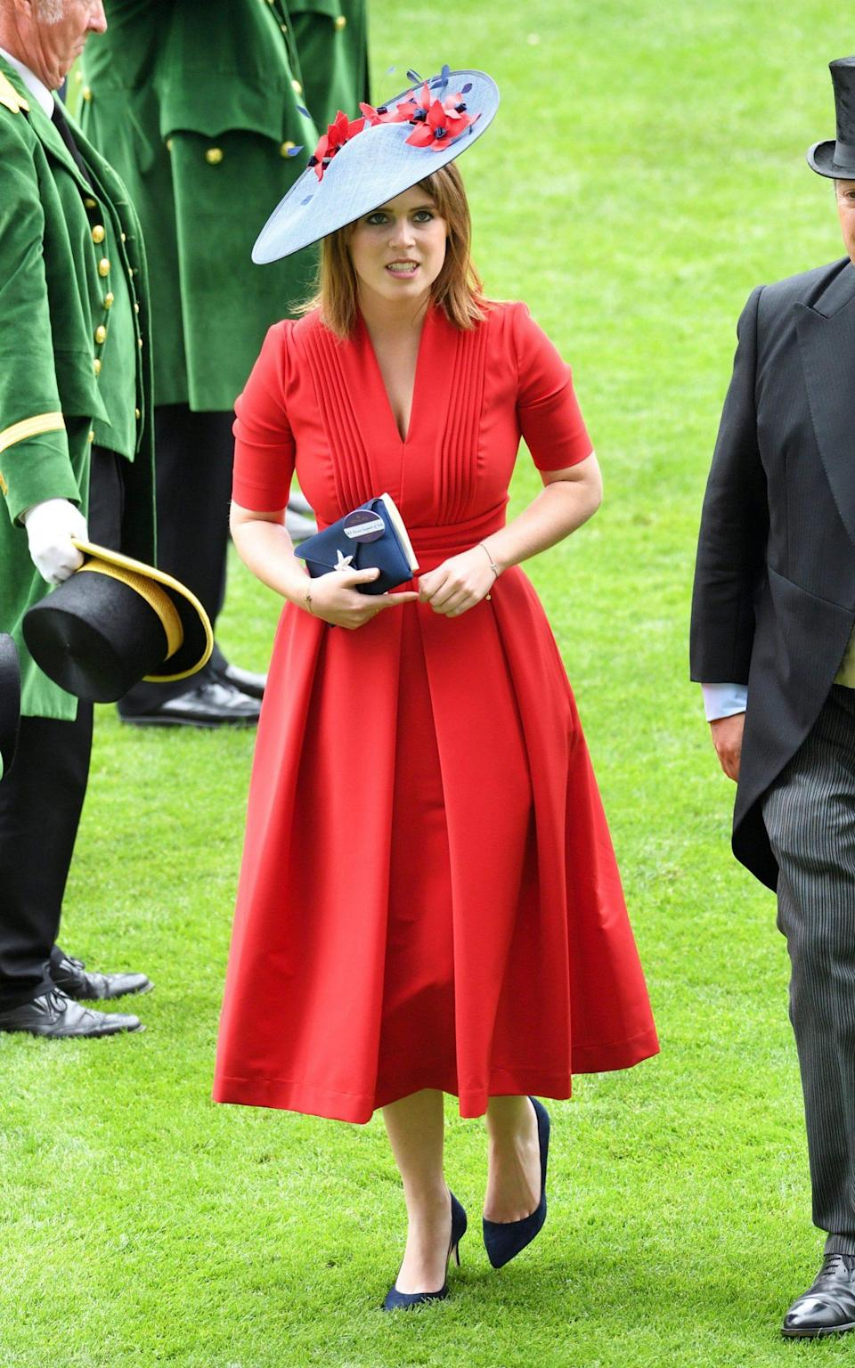 Princess Eugenie of York attends Ladies Day of Royal Ascot - WireImage