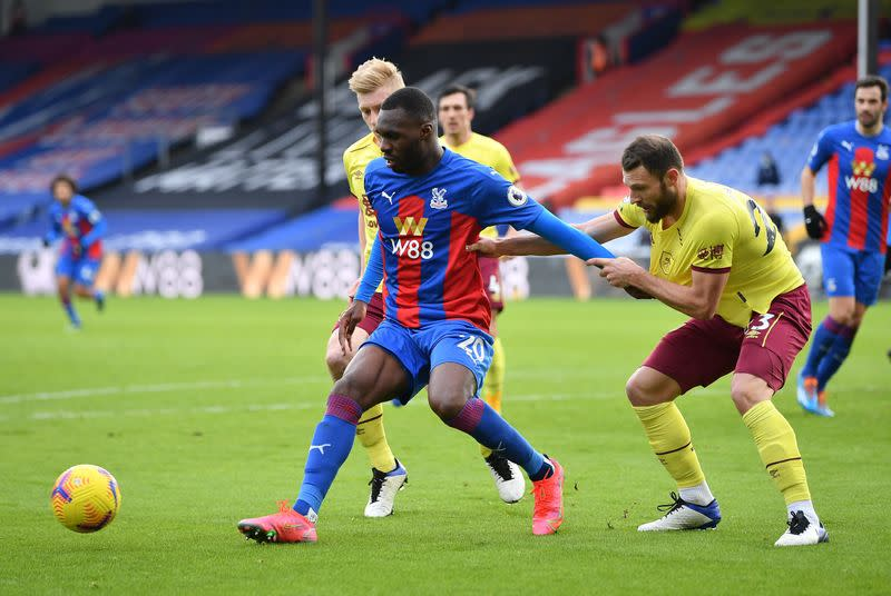 Premier League - Crystal Palace v Burnley