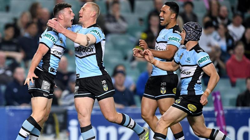 Cronulla are through to a NRL preliminary final with premiers Melbourne after edging Penrith