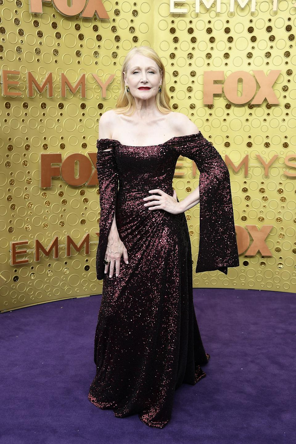 """<h1 class=""""title"""">Patricia Clarkson in Christian Siriano</h1><cite class=""""credit"""">Photo: Getty Images</cite>"""