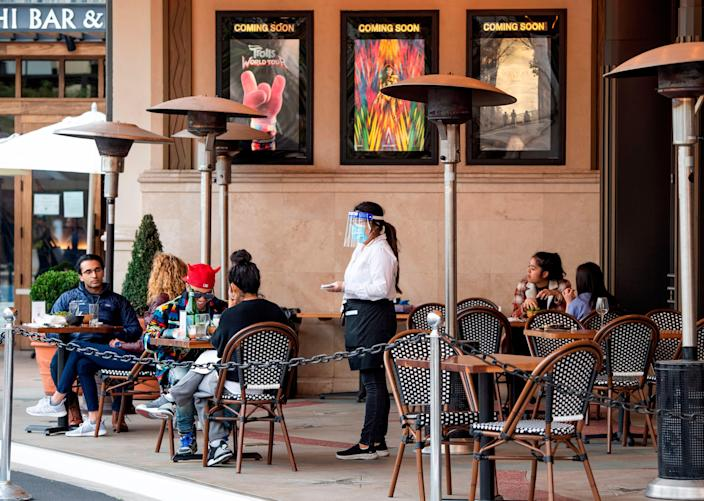 los angeles outdoor dining