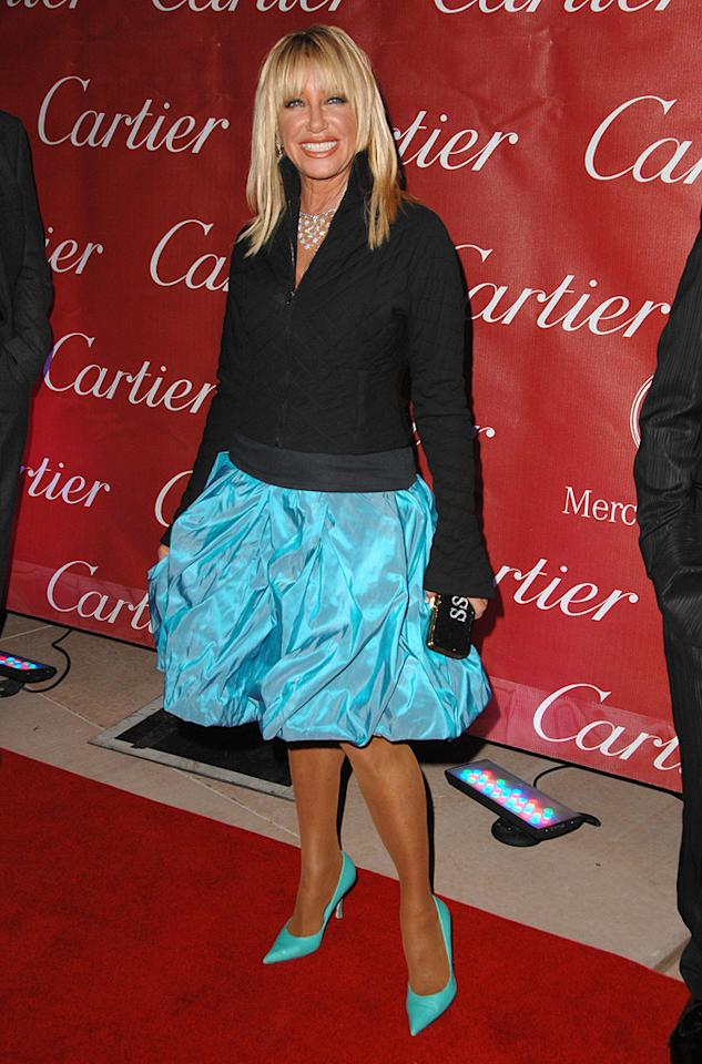"<a href=""http://movies.yahoo.com/movie/contributor/1800017121"">Suzanne Somers</a> at the 20th Annual Palm Springs Film Festival Gala - 01/06/2009"