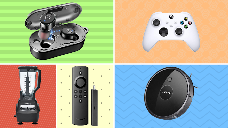 Save up to 62 percent on top-notch earbuds, gaming controllers, robovacs and more! (Photo: Amazon)