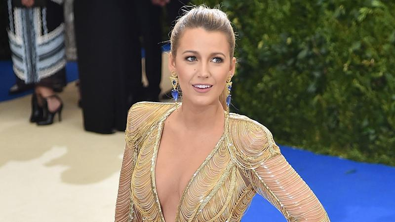 "Blake Lively Says She Was Teased as a Child for Being Tall With ""Yellow"" Hair"