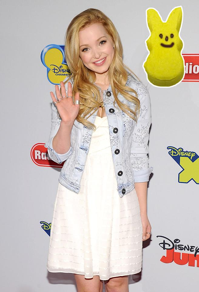NEW YORK, NY - MARCH 12:  Dove Cameron attends the Disney Channel Kids Upfront 2013 at Hudson Theatre on March 12, 2013 in New York City.  (Photo by Jamie McCarthy/Getty Images)
