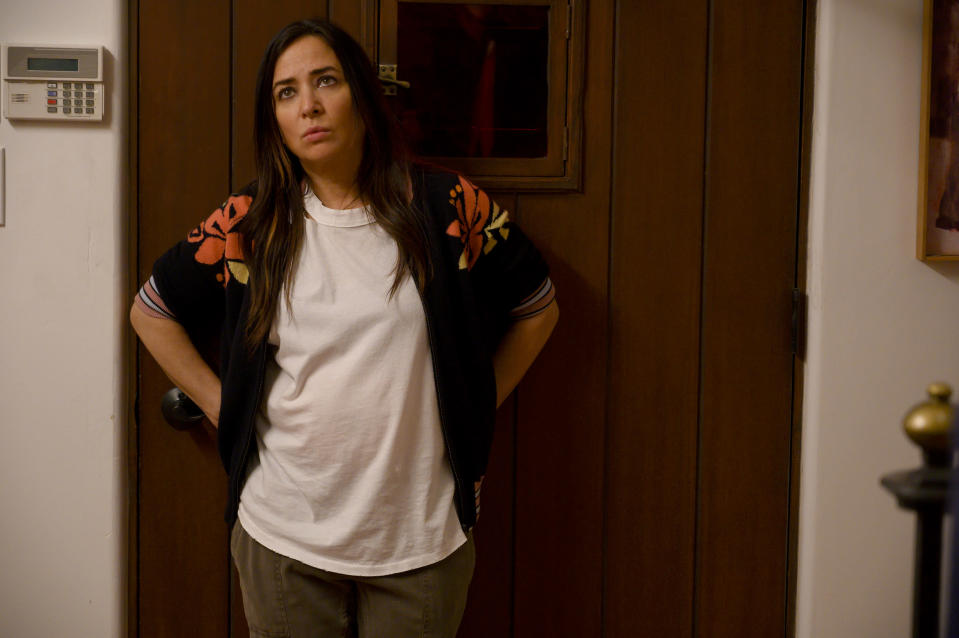 Pamela Adlon in the FX series <em>Better Things</em>. (Photo: Suzanne Tenner/FX)