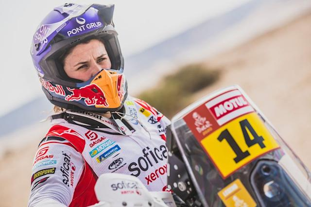 "#14 GAS GAS Factory Team: Laia Sanz <span class=""copyright"">Red Bull Content Pool</span>"