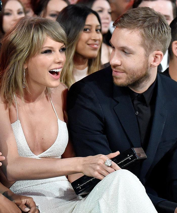 Calvin Harris and Taylor Swift. Source: Getty Images.