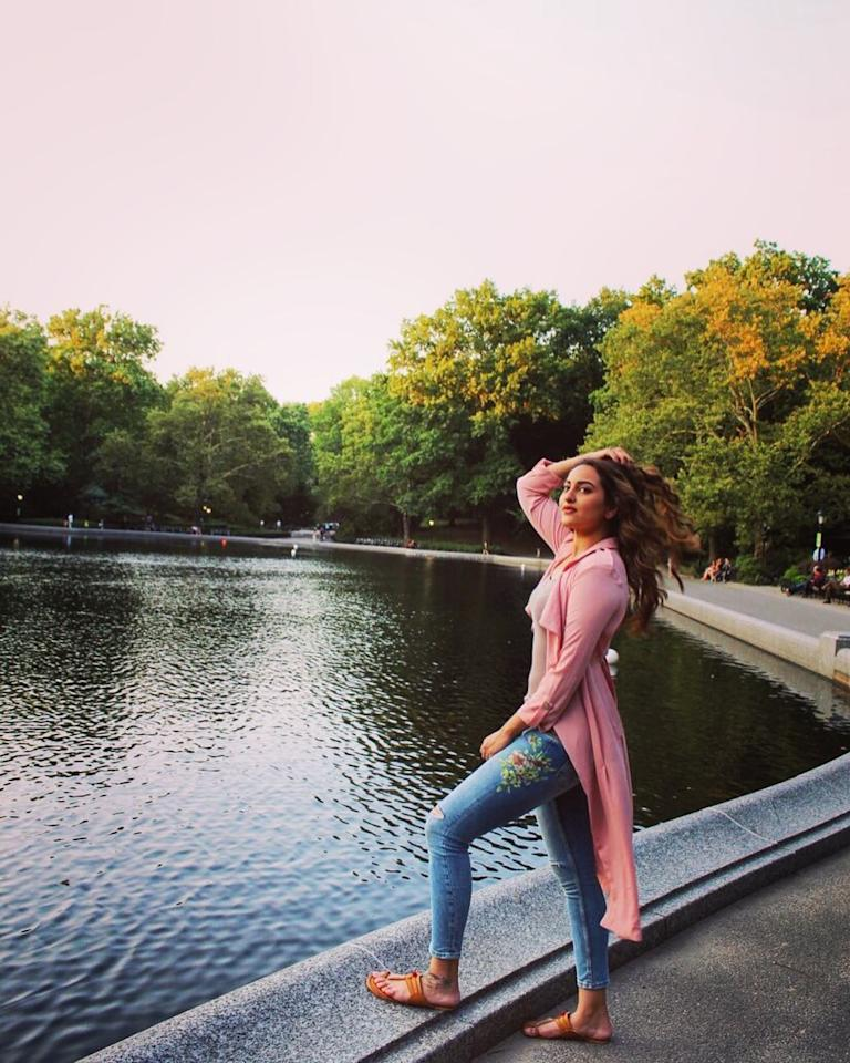 <p>Catching the wind at The Central Park, New York. </p>