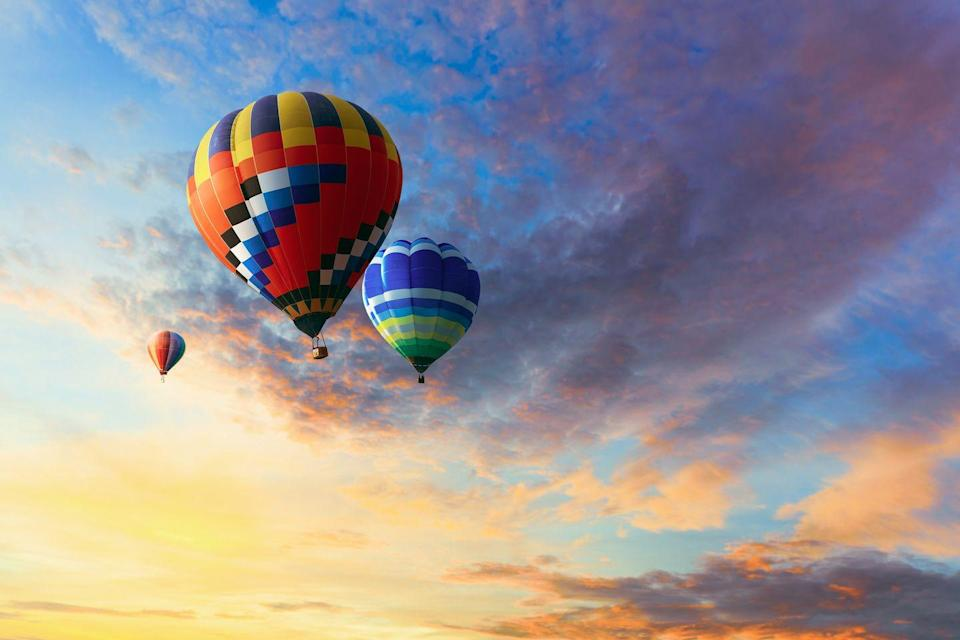 """<p>It's pricier than anything else on this list, but for maximum romance and some serious thrills, book a flight in a hot air balloon. Getting """"up, up and away"""" is sure to get both of your juices flowing.</p><p><a class=""""link rapid-noclick-resp"""" href=""""https://www.amazon.com/Canon-PowerShot-Digital-Camera-Stabilization/dp/B019UDHT6U/ref=sxin_10?tag=syn-yahoo-20&ascsubtag=%5Bartid%7C10050.g.35949770%5Bsrc%7Cyahoo-us"""" rel=""""nofollow noopener"""" target=""""_blank"""" data-ylk=""""slk:SHOP CAMERAS"""">SHOP CAMERAS</a></p>"""