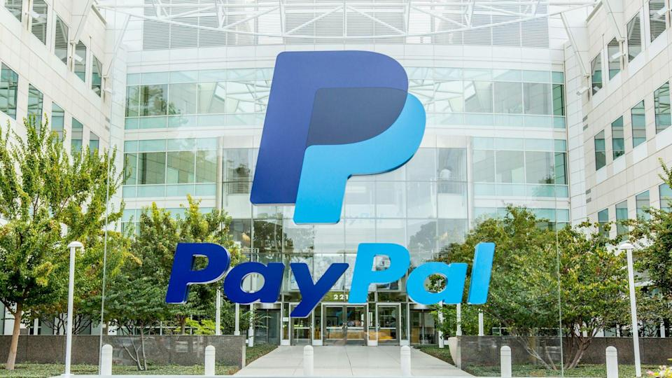 San Jose, USA - October 15, 2015: PayPal corporate headquarters located at 2221 N.