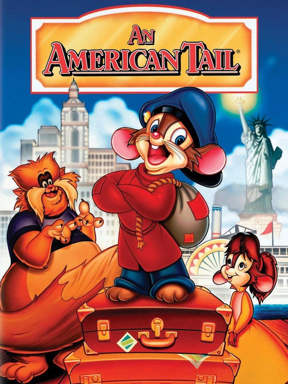 """<p>This heartwarming children's movie tells the """"tail"""" of Fievel, a young Russian mouse who gets separated from his parents on their journey to America. This movie is a great way to start a conversation with the kids about immigration and why people would want to come to America in search of a better life. <br><br><a class=""""link rapid-noclick-resp"""" href=""""https://www.amazon.com/American-Tail-Christopher-Plummer/dp/B00IRX3CZM/ref=sr_1_1?tag=syn-yahoo-20&ascsubtag=%5Bartid%7C10070.g.36156094%5Bsrc%7Cyahoo-us"""" rel=""""nofollow noopener"""" target=""""_blank"""" data-ylk=""""slk:STREAM NOW"""">STREAM NOW</a> </p>"""