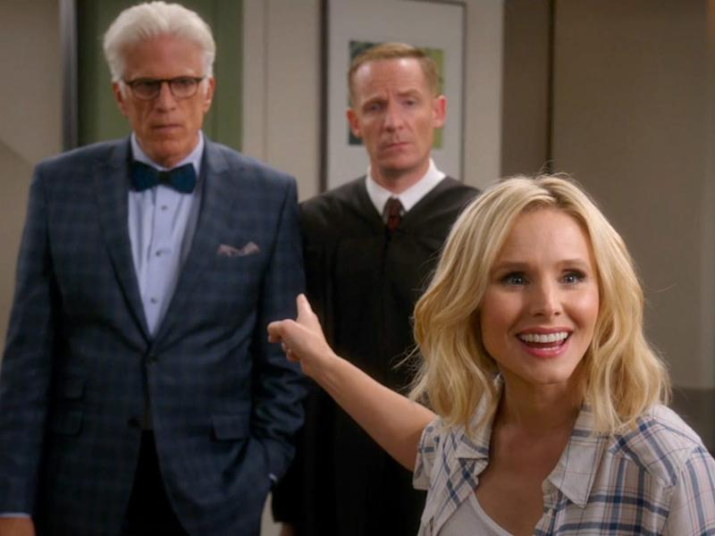 The Good Place Eleanor Michael Finale season one