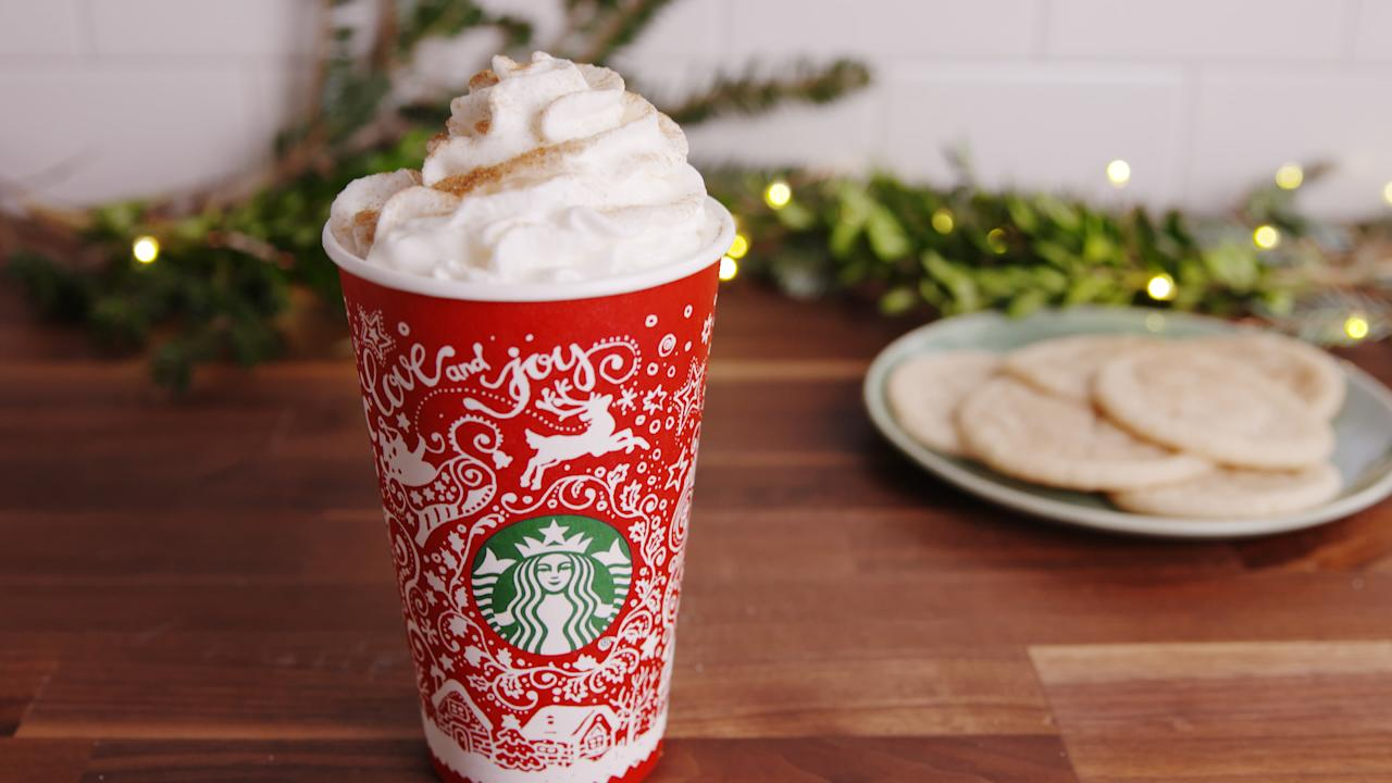 Everyone is flipping out over the new Starbucks hot chocolate - consider the holiday drink game changed.