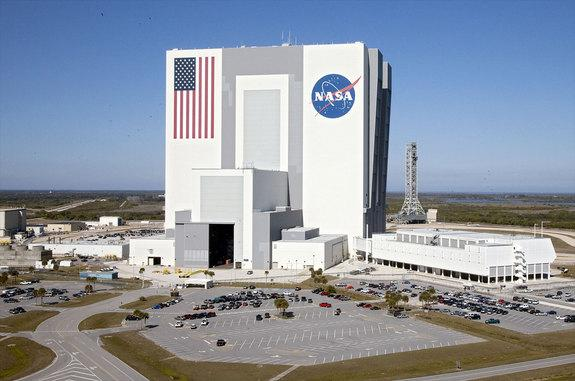 The Vehicle Assembly Building at NASA's Kennedy Space Center in Florida is being closed to public tours to allow for renovations needed to support the Space Launch System.
