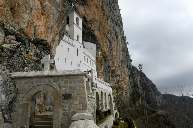 Orthodox churches in Montenegro such as the Ostrog monastery are at the centre of a political tug of war