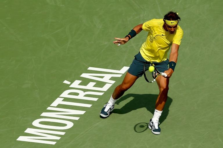 A semi-final run in Montreal would see Rafael Nadal (pictured) supplant Andy Murray atop the ATP rankings